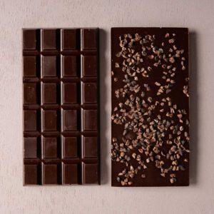 טבלאת שוקולד פולי קקאו 70% -טבעוני